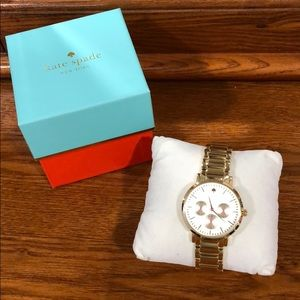 Kate Spade Gold Water Resistant Watch
